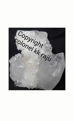 Apophyllite with quartz cluster from ladakh India