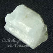 White Natrolite Stone