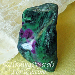 Natural Ruby Zoisite Stone