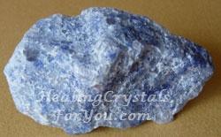 Natural Blue Dumortierite