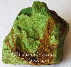 Raw Natural Gaspeite