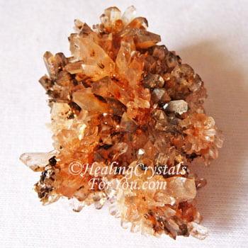 Orange Creedite Cluster