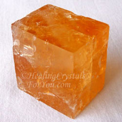 Orange Optical Calcite