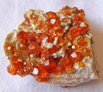 Orange Spessartine