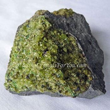 Natural Peridot Stone from NSW Australia aka Olivine
