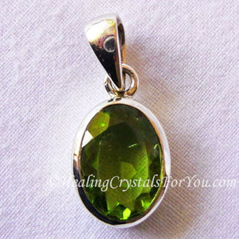 gemstone birthstone august diamond stone two pendant silver peridot necklace heart sterling in p