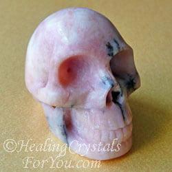 Petalite Crystal Skull