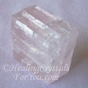 Transparent Pink Calcite