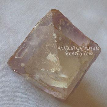 Fluorite Octohedron