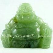 Prehnite Buddha
