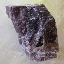 Purple Anhydrite