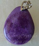 Purpurite Pendant