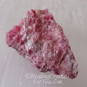 Gemmy Rhodonite aka Pyroxmangite