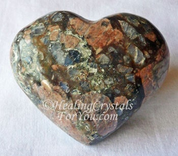Que Sera Crystal Heart