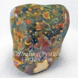 Rainforest Jasper aka Green Rhyolite