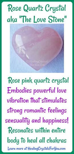 Rose Quartz Crystal Meaning & Use: Healing Crystals For You