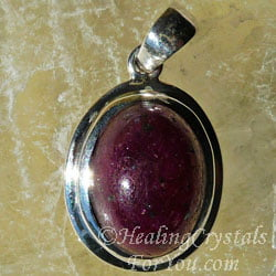Ruby Gemstone Pendant