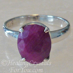 Indian Ruby Ring