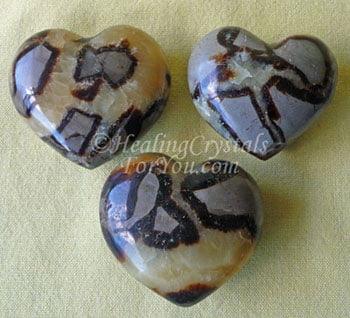 Septarian Hearts