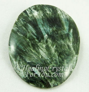 Seraphinite Meaning & Use: Contact Angels and The Divine
