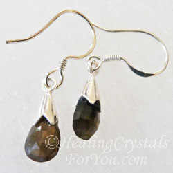 Sillimanite Earrings