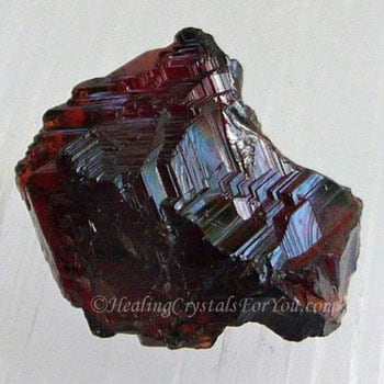 Deep Red Spessartine Garnet