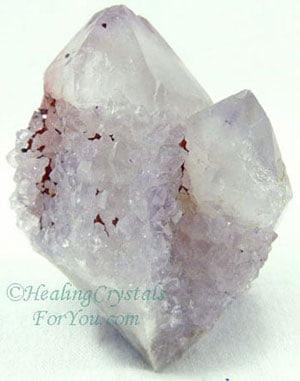 Lavender Spirit Quartz Crystals