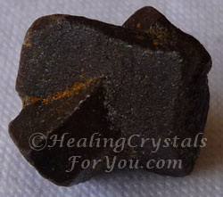 Staurolite is a good stress relief stone