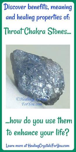 Throat Chakra Stones