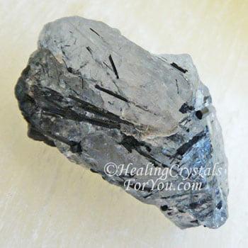 Black Tourmaline In Quartz