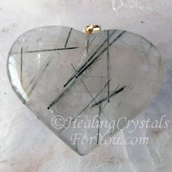 Tourmilated Quartz Pendant