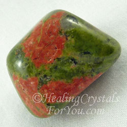 Unakite Stone Aids Psychic Visions Stress Relief