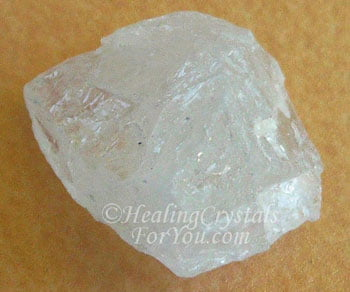 White Amblygonite