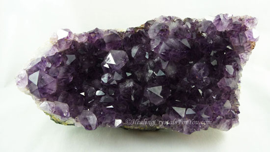 Amethyst Dark Purple Crystal Cer