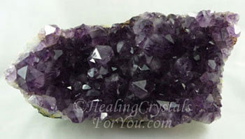 Dark Purple Amethyst Crystal Cluster