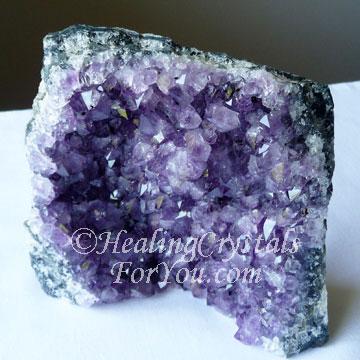 Purple Amethyst Cluster