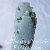 Angel Wing Blue Anhydrite