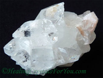 Clear Apophyllite Cluster