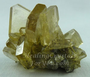 Barite or Baryte crystal cluster