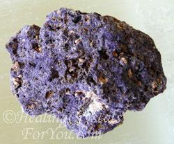 Bastnasite in Purple Fluorite