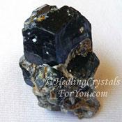 Black Andradite Garnet Pendant