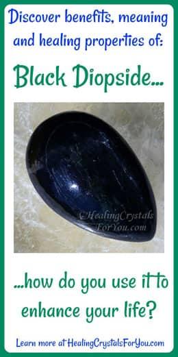 Black Diopside
