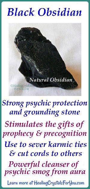 Black Obsidian Stone