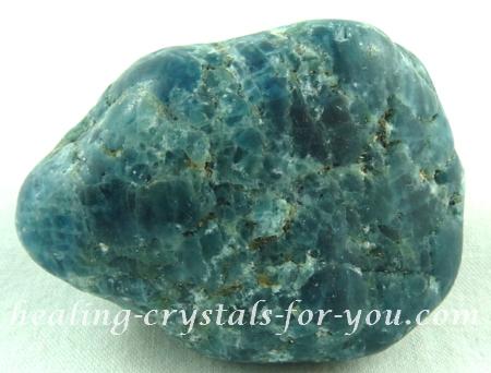 Natural Blue Apatite Stone