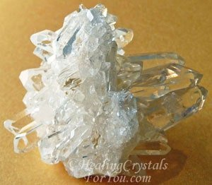 Clear Burr Quartz