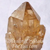 Citrine Cathedral Quartz