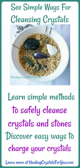 Learn Ways to Cleanse Crystals