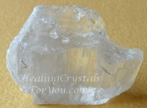 Clear Petalite Crystal aka Castorite