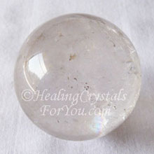Clear Quartz Crystal Sphere