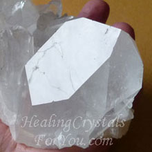 Clear Quartz Crystals